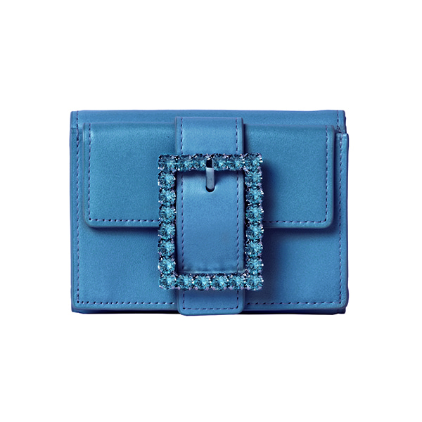 Lady Embellished Wallet_Sky Blue