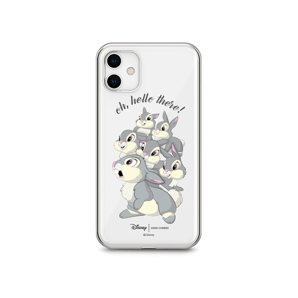 Thumper and Rabbit Clear Phonecase