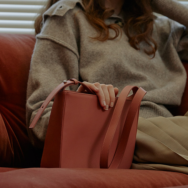 Judy Shoulder Bag_Rose Pink