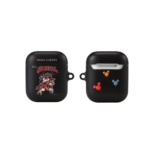 Marry-go-round Mickey Airpod Case_Black