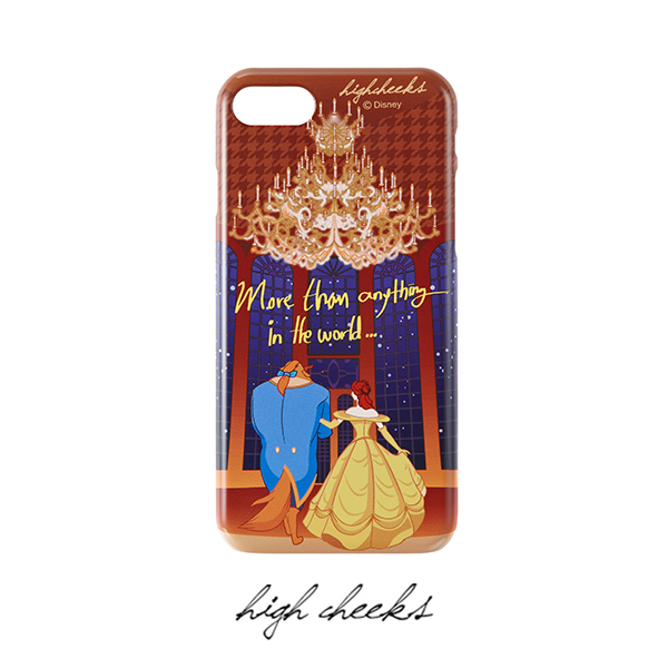 [Disney│highcheeks] Beauty and the Beast Lettering Phone Case