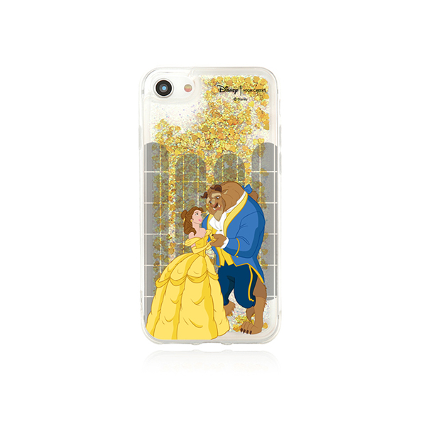 30%[Disney│highcheeks] Beauty and the Beast Glitter Phone Case