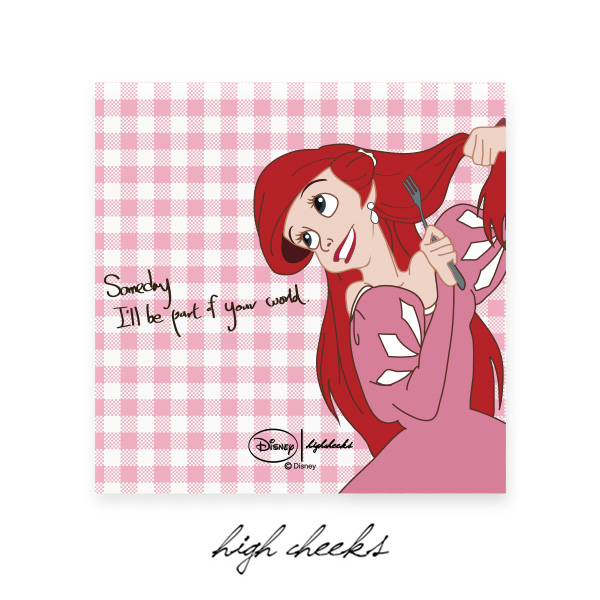 [Disney│highcheeks]  Pink Ariel Canvas Frame