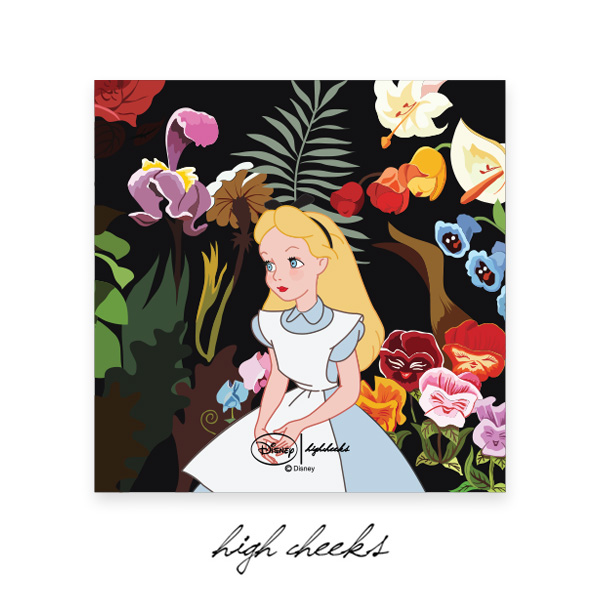 [Disney│highcheeks] Alice Garden Canvas Frame